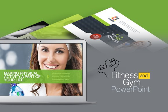 Fitness Gym Powerpoint Template