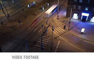 Timelapse of city traffic in Tallin