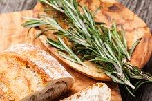 Ciabatta and Olive oil