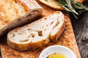 Ciabatta and Olive oil