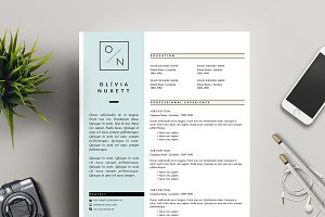 Minimalist Resume for MS Word