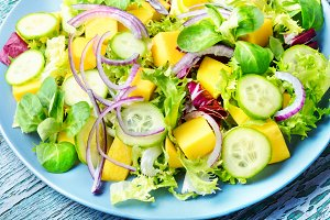Herb spring salad