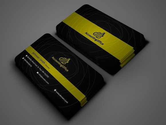 Unique business card design business card templates creative market colourmoves Image collections
