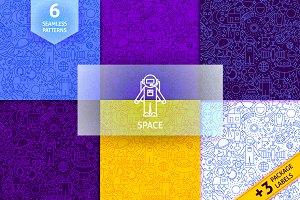 Space Line Tile Patterns