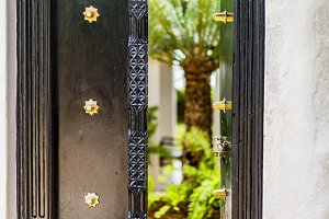 Carved Swahili Door, Shela, Kenya