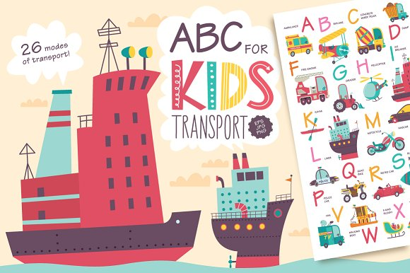 ABC For Kids Transport