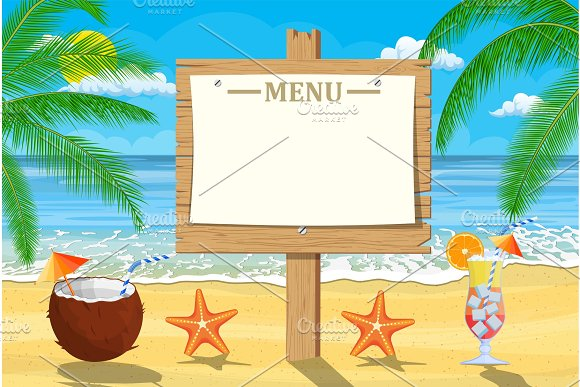 Summer Seaside Poster