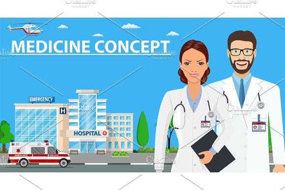Medicine Concept With Doctors