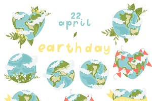 Earth day set