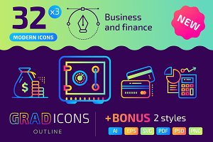 32+ Business and finance icons