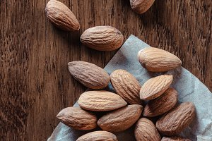 Almond fried