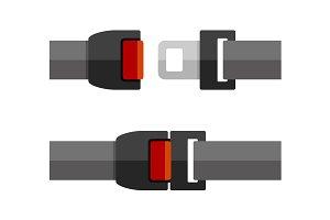 Open and Close Seatbelt Set