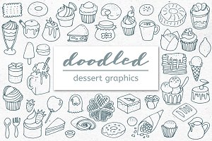 Doodled Desserts, Treats and Sweets