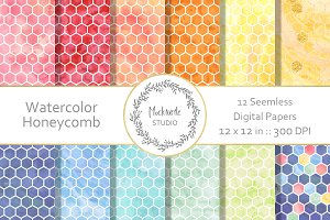 Honeycomb digital paper