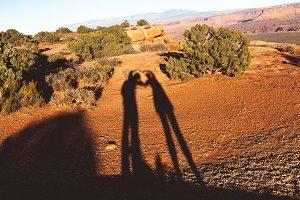 Lovers shadow