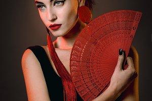 Model Geisha style