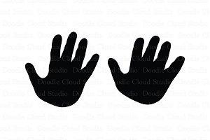 Child & Adult Hands SVG files