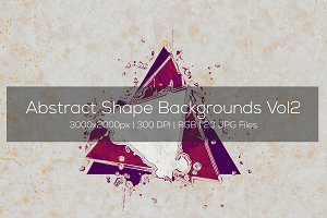 Abstract Shape Backgrounds Vol2