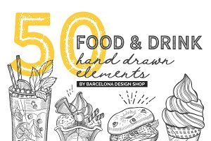 Food & Drink Illustrations