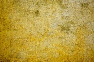 Concrete yellow wall