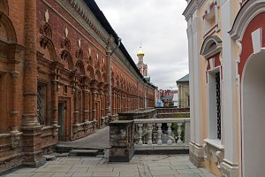 High Monastery of St Peter. Moscow.