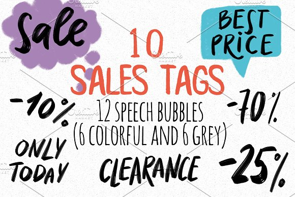 10 Sales Tags