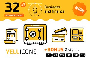 32+ Business & finance – YELLICONS
