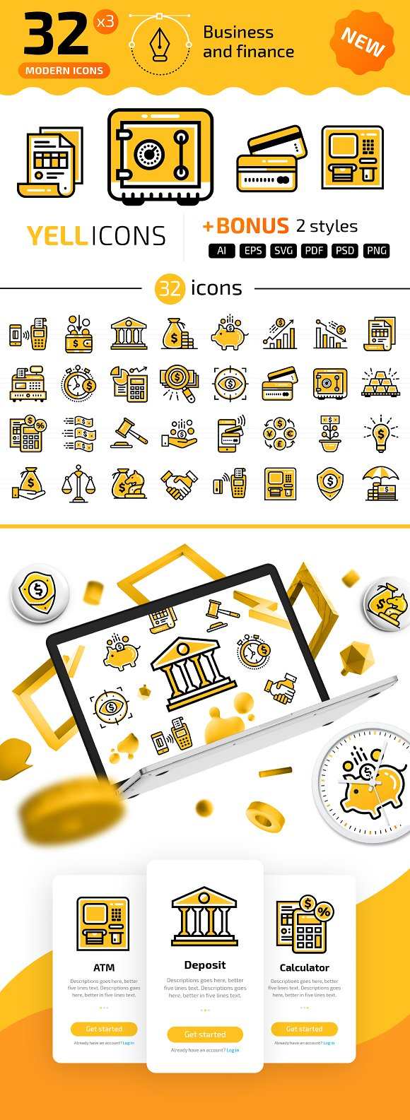 32 Business Finance YELLICONS