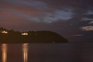 Lake Michigan at Night