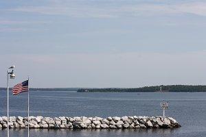 Pier on Lake Michigan in Door County