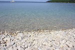 Smooth Stone Beach in Door County
