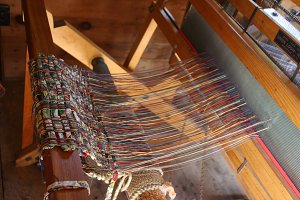 Loom in Barn in Door County