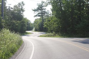 Road in Door County