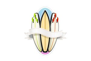 Surf board for sutfing. Sport