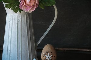Easter theme decor