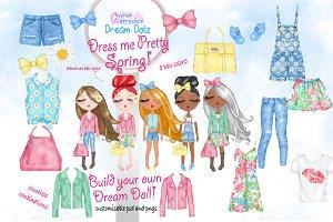 Dream Dolls dress me pretty