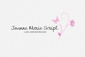 Joanne Marie Script Font - logo