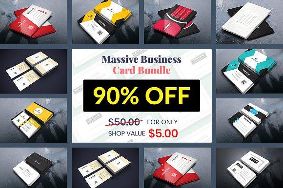 Massive Business Card Bundle