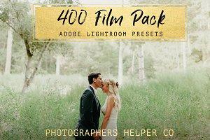 400 Film LR Preset Pack