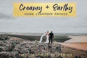 Creamy & Earthy LR Preset Pack