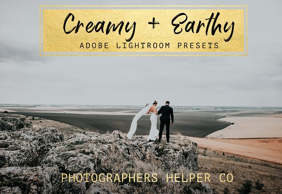 Creamy Earthy LR Preset Pack