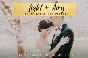 Light & Airy LR Preset Pack