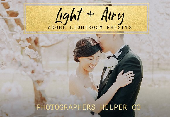 Light Airy LR Preset Pack