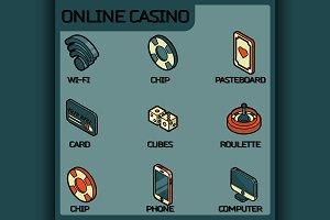 Online casino color