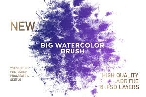 BIG Watercolor Brush