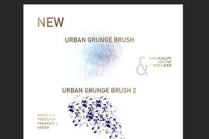 Urban Grunge Brush Set