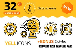 32+ Data science : : YELLICONS