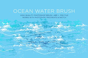 Ocean Water Brush