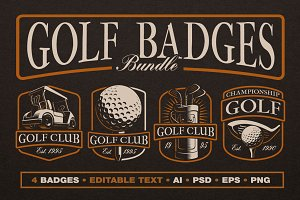 Golf Logo Templates