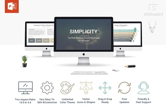 60% Off Simplicity PowerPoint